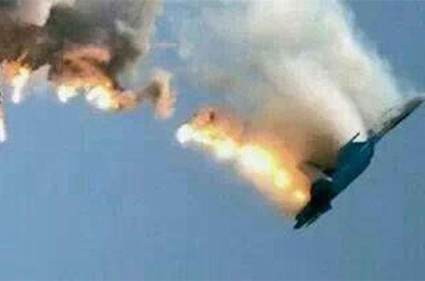 Russian Su-24 shot down on the Syrian-Turkish border last November